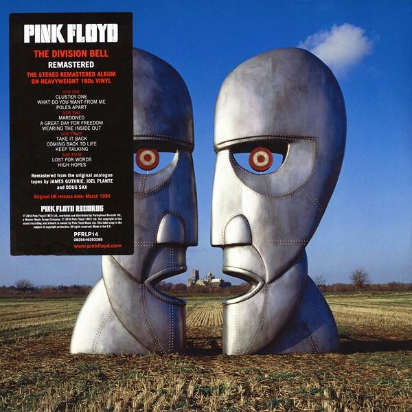 Pink Floyd The Division Bell 2lp 180 Gram Vinyl Gatefold