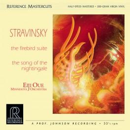 Stravinsky The Firebird Suite LP 200g Vinyl Eiji Oue Minnesota Orchestra Reference Mastercuts QRP USA