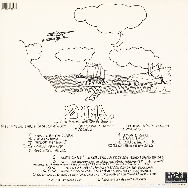 Neil Young And Crazy Horse Zuma Lp Vinyl Bernie Grundman