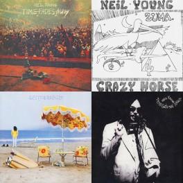 Vinyl Gourmet Bundle: Neil Young 4LP HQ Vinyl AAA Bernie Grundman Reprise ORS 5-8 Pallas 2016 EU