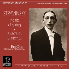 Stravinsky The Rite Of Spring LP Vinil 180gr 45rpm Oue Minnesota Orchestra Reference Mastercuts QRP USA