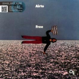 Airto Moreira Free LP 180 Gram Audiophile Vinyl CTI Speakers Corner Gatefold Pallas Germany 2016 EU