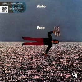 Airto Moreira Free LP Vinil 180 Gramas Audiófilo CTI Speakers Corner Gatefold Pallas Alemanha 2016 EU