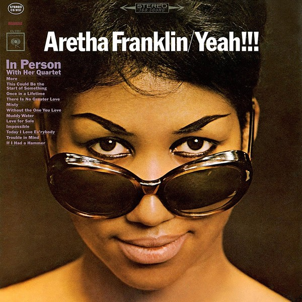 Aretha Franklin Yeah In Person With Her Quartet Lp 180g