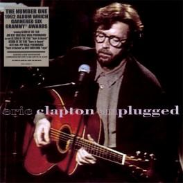 Eric Clapton Unplugged 2LP Vinil 180 Gramas Gatefold Reprise Records Bernie Grundman Optimal 2011 EU