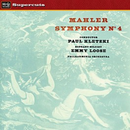 Mahler Symphony No. 4 LP 180 Gram Vinyl Paul Kletzki Philharmonia EMI Hi-Q Supercuts 2016 EU