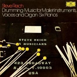 Steve Reich Drumming 3LP 180 Gram Vinyl Numbered Limited Edition Box Deutsche Grammophon 2016 EU