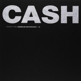 Johnny Cash American Recordings I-VI Caixa 7LP Vinil 180 Gramas Rick Rubin Edição Limitada 2015 EU