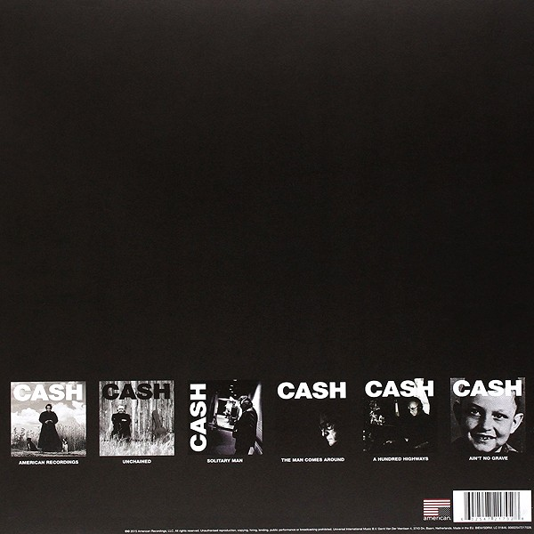 Johnny Cash American Recordings I Vi Box Set 7lp 180 Gram