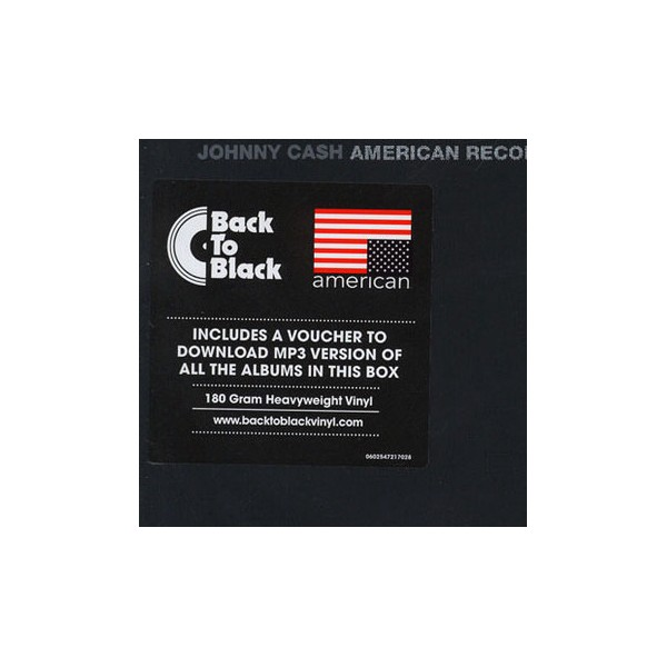 Johnny Cash American Recordings I Vi Box Set 7lp 180 Gram