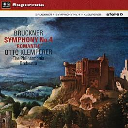 Bruckner Symphony No. 4 Romantic LP 180 Gram Vinyl Klemperer Philharmonia EMI Hi-Q Supercuts 2016 EU
