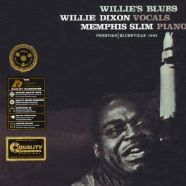 Willie Dixon and Memphis Slim Willie's Blues LP Vinil 200g Stereo Prestige Analogue Productions QRP USA
