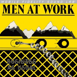 Men At Work Business As Usual LP Vinil Mobile Fidelity Sound Lab Ediçao Limitada Numerada MFSL 2016 USA