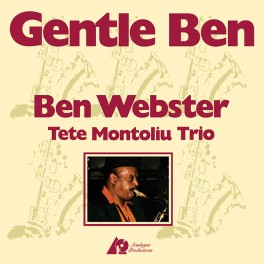 Ben Webster Gentle Ben LP 200 Gram Audiophile Vinyl Analogue Productions Kevin Gray QRP 2011 USA