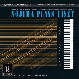 Nojima Plays Liszt 2LP 180 Gram Vinyl 45rpm Half-Speed Reference Recordings Mastercuts QRP 2016 USA