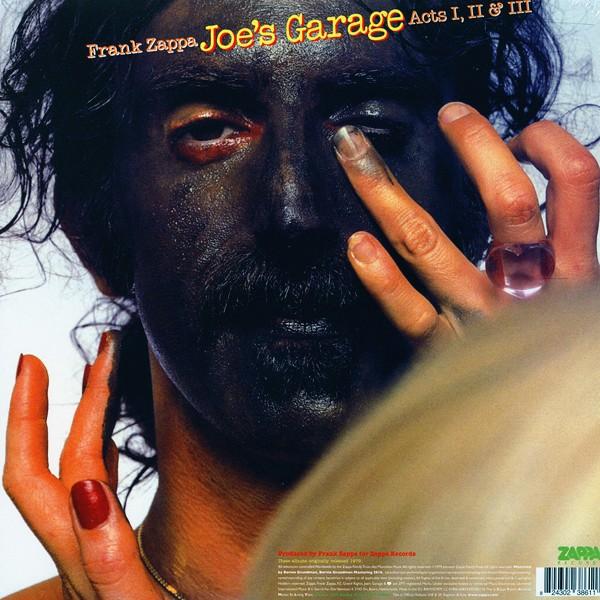 Frank Zappa Joe S Garage Acts I Ii Amp Iii 3lp 180 Gram