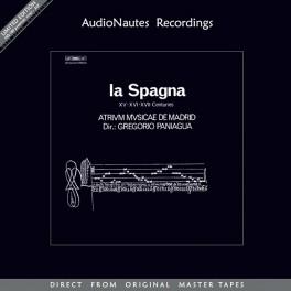 Gregorio Paniagua La Spagna 2LP Vinil 180gr Atrium Musicae de Madrid Stan Ricker AudioNautes 2015 EU