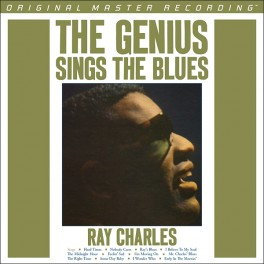 Ray Charles The Genius Sings The Blues LP Vinil 180g Mobile Fidelity Edição Limitada Numerada MFSL USA