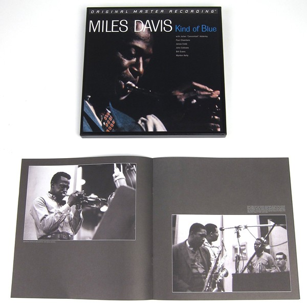 Miles Davis Kind Of Blue 2lp 45rpm 180g Vinyl Limited