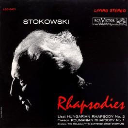 Stokowski Rhapsodies LP 200g Vinyl RCA Living Stereo Sterling Sound Analogue Productions QRP 2015 USA