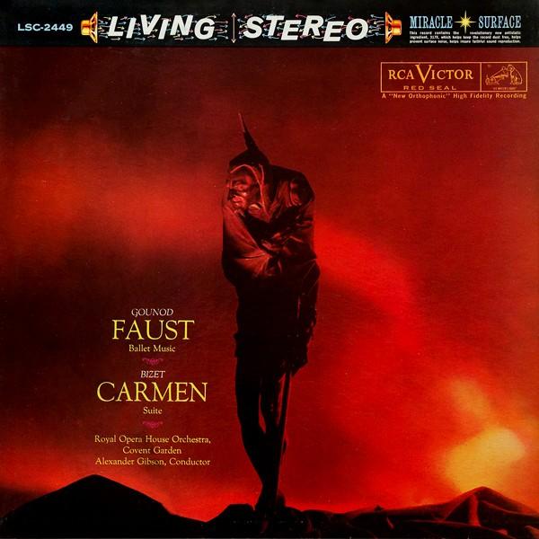 Gounod Faust Ballet Amp Bizet Carmen Lp 200g Vinyl Rca
