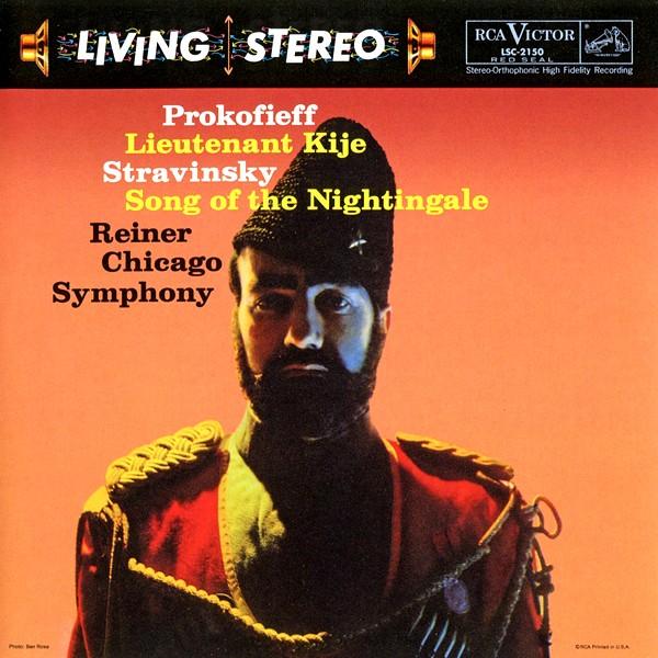 Prokofiev Lieutenant Kije Stravinsky Song Nightingale Lp