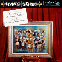 Mussorgsky Ravel Pictures At An Exhibition Reiner LP Vinil 200g RCA Living Stereo Analogue Productions