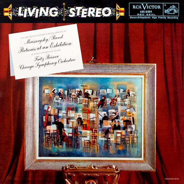 Mussorgsky Ravel Pictures At An Exhibition Reiner Lp 200g