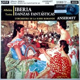 Albeniz Iberia Turina Danzas Fantasticas Ansermet LP 180 Gram Vinyl Decca Speakers Corner Pallas EU