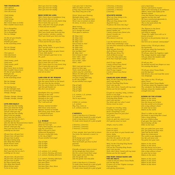 The Doors L A  Woman 2LP 45rpm 200g Vinyl Doug Sax Bruce