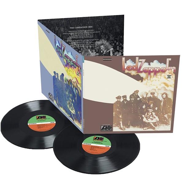 Led Zeppelin Ii Deluxe Edition 2lp Set 180 Gram Vinyl
