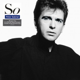 Peter Gabriel So LP 180 Gram Vinyl Half-Speed Remaster + Download Real World Records 2016 EU