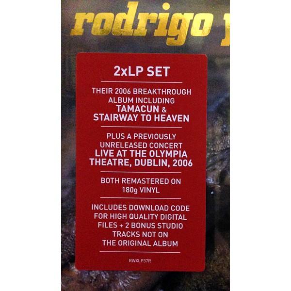 Rodrigo Y Gabriela 2lp 180 Gram Vinyl Remastered 10th