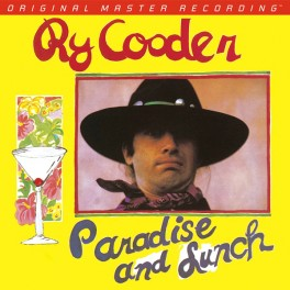 Ry Cooder Paradise and Lunch LP Vinil 180gr Mobile Fidelity Sound Lab Edição Limitada MFSL 2017 USA