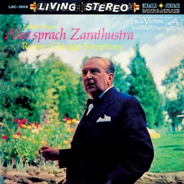 Strauss Also Sprach Zarathustra Reiner LP Vinil 180g RCA Living Stereo Analogue Productions QRP USA
