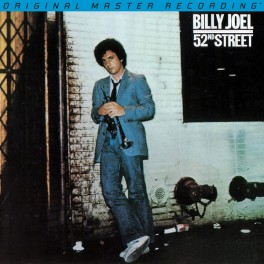 Billy Joel 52nd Street 2LP 45rpm 180g Vinyl Mobile Fidelity Sound Lab USA Numbered Limited Edition USA