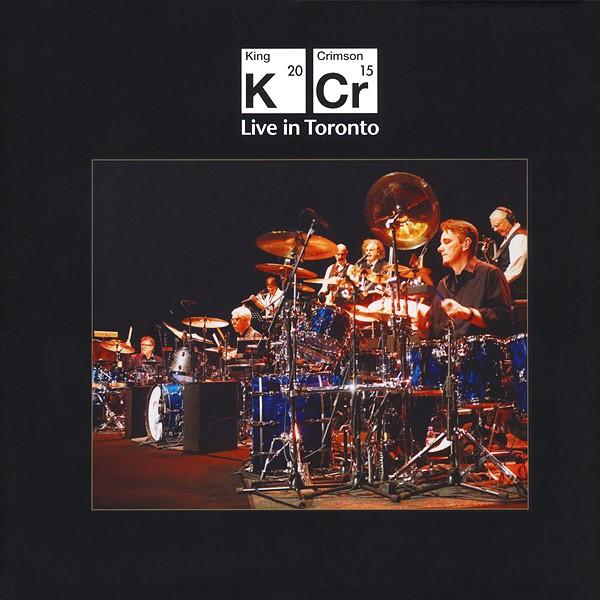 King Crimson Live In Toronto 4lp Vinil 200 Gramas Dvd