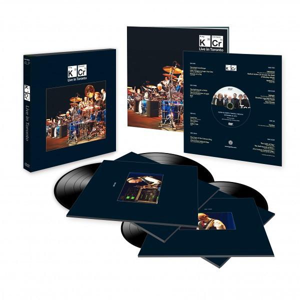 King Crimson Live In Toronto 4lp 200 Gram Vinyl Dvd