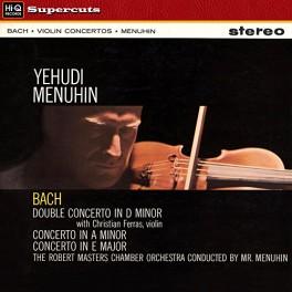 Bach Violin Concertos Yehudi Menuhin LP Vinil 180 Gramas Abbey Road EMI Hi-Q Records Supercuts EU