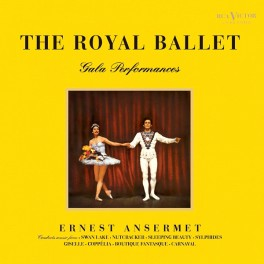 The Royal Ballet Gala Performances Ansermet 2LP 200g Vinyl RCA Living Stereo Analogue Productions QRP US