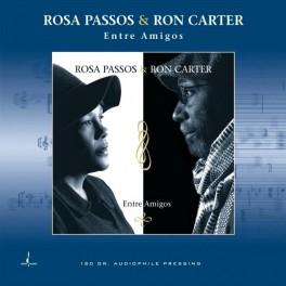 Rosa Passos & Ron Carter Entre Amigos LP Vinil 180 Gramas Audiófilo Chesky Records QRP 2017 USA