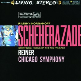 Fritz Reiner Rimsky-Korsakov Scheherazade 2LP 45rpm Vinil 200g Analogue Productions Sterling QRP USA