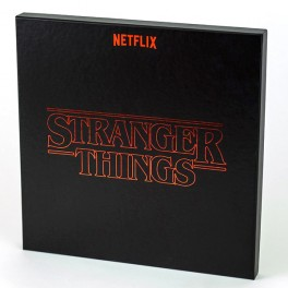 Stranger Things Season 1 Soundtrack 4LP 180 Gram Vinyl Deluxe Box Set Netflix Invada Records 2017 EU
