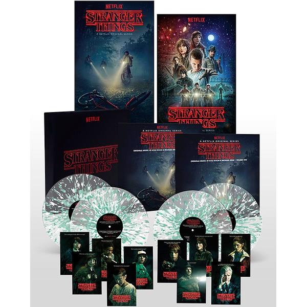 Stranger Things Season 1 Soundtrack 4LP 180 Gram Vinyl Deluxe Box