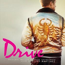 Cliff Martinez Drive Original Motion Picture Soundtrack 2LP 180 Gram Splatter Vinyl 2017 EU