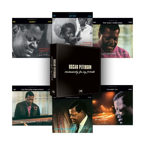 Oscar Peterson Exclusively For My Friends 6lp 180gr Vinyl