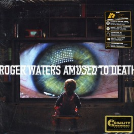 Roger Waters Amused to Death 2LP 200 Gram Vinyl Analogue Productions Deluxe Gatefold QRP 2015 USA