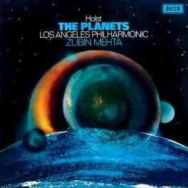 Holst The Planets Zubin Mehta LP 180 Gram Vinyl Los Angeles Philharmonic Decca Speakers Corner Pallas EU