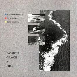 John McLaughlin Al Di Meola Paco De Lucia Passion Grace & Fire LP 180g Vinyl Audio Fidelity 2017 USA