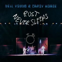 Neil Young & Crazy Horse Rust Never Sleeps LP Vinyl Official Release Series Bernie Grundman 2017 EU
